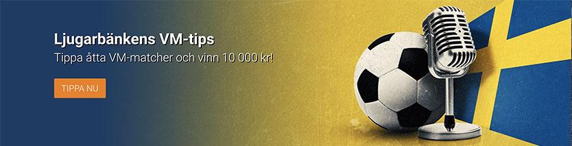NordicBet casino VM odds - Tippa åtta matcher och vinn upp till 10 000 kr