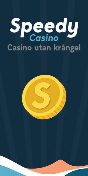 Speedy casino är ett casino utan krångel
