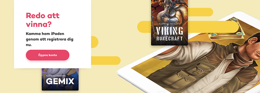 21.com casino turnering - vinn en Apple iPad eller upp till 500 free spins