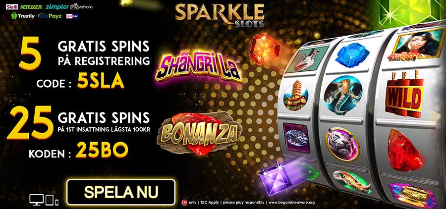 Sparkle Slots no deposit casino
