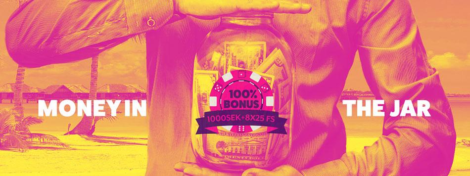Frank & Fred caaino välkomstbonus - upp till 1 000 kr och 200 free spins