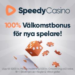Speedy casino recension: vårt omdöme är bra och positivt i vår recension om SpeedyCasino!