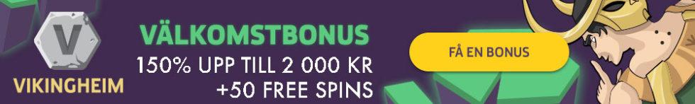 VikingHeim casino free spins - hämta 50 free spins första insättning