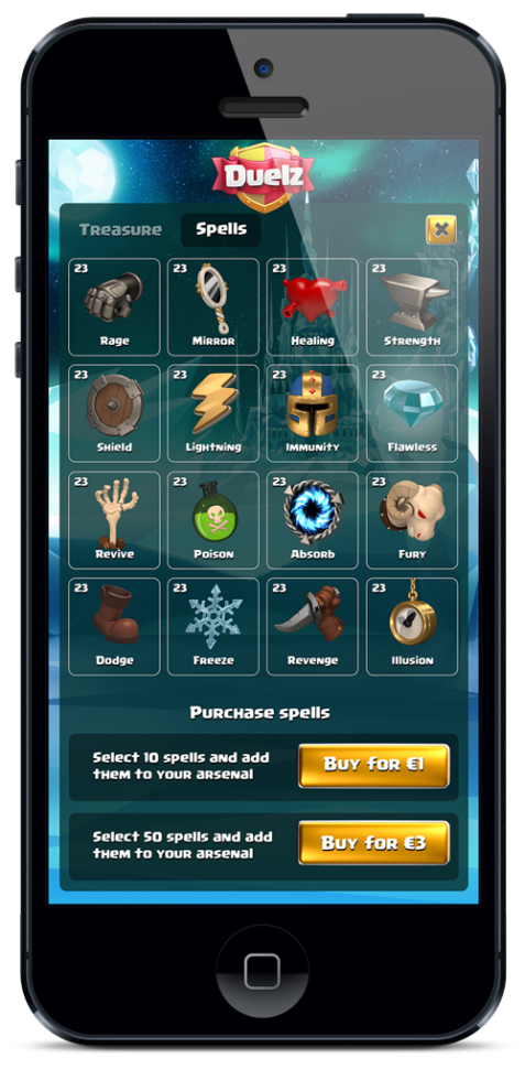 Duelz Casino spela på mobil och duellera mot andra spelare