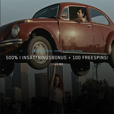 Maria Casino 500% bonus och 100 free spins