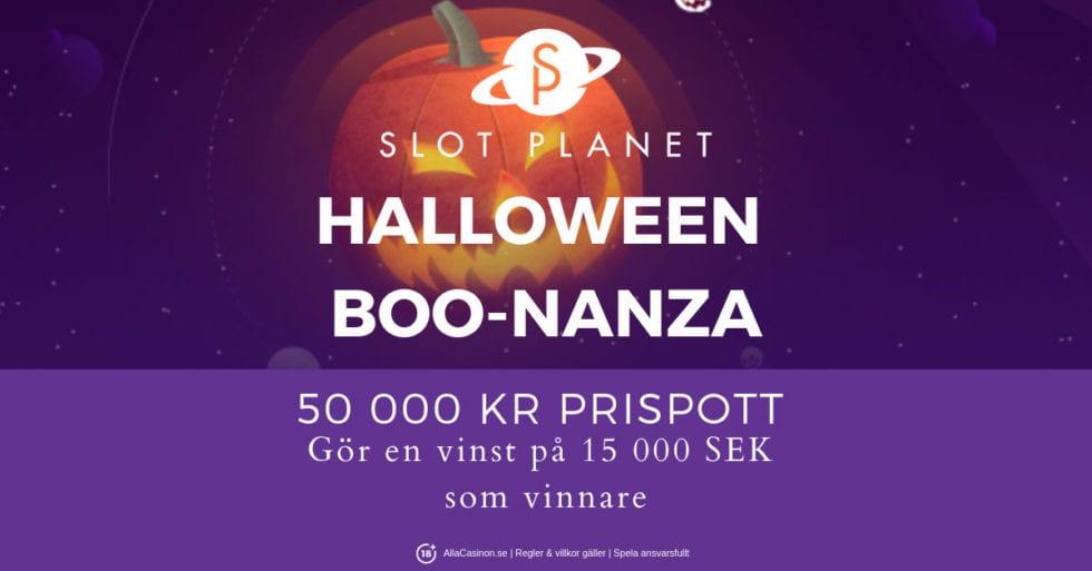 Ny Boo-nanza fest - fira Halloween med med Slot Planet