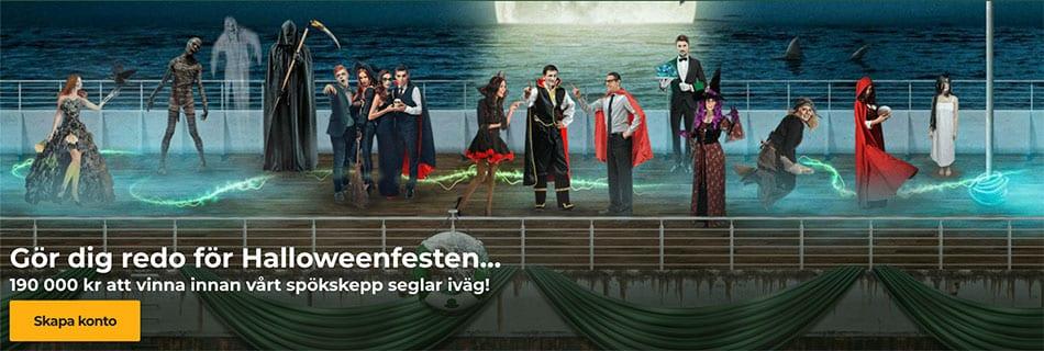 Vinn en resa ombord på Queen Mary med MrGreen casinos Halloween