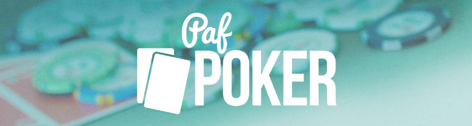 Paf Poker - 100kr bonus på din första insättning!