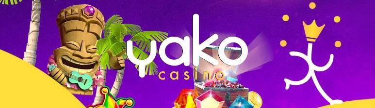 Yako Casino välkomstbonus - 100% i bonus på 1000 kronor