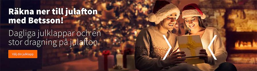 Julkalender Betsson 2019 dagliga casino erbjudanden!