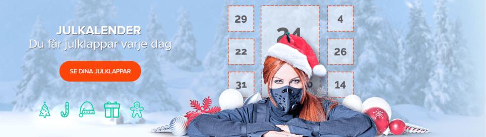 NinjaCasino julkalender 2018