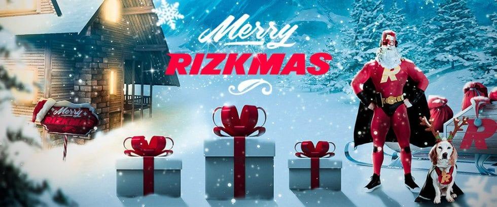 Rizk casino julkalender 2018 - nu har du chansen att vinna 1000 kr varje dag med Rizkmas 2018!