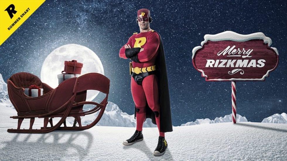 Rizk julkalender 2018 - ha en riktig Merry Rizmas 2018!