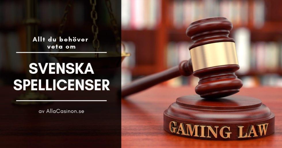 Casino med svensk licens - för dig som vill spela på casino sidor med svensk spellicens!