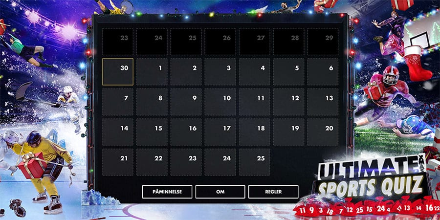 Bethard casino juilkalender 2018