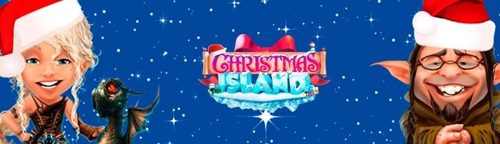 Casino Heroes julkalender 2018 - Christmas Island