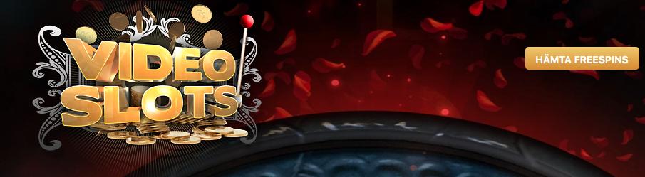 Videoslots - 100% casino bonus + 11 omsättningsfria freespins på din första insättning!