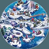 Casino Heroes julö - Christmas Island