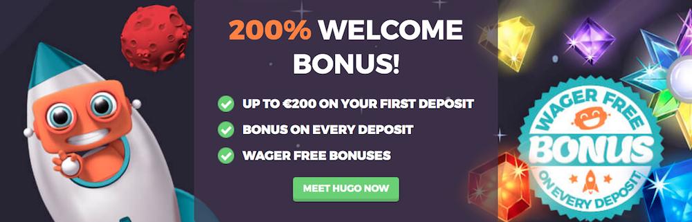 Vår sammanfattande recension av HappyHugo Casino