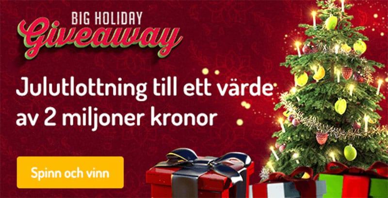Karjala kasino julkalender 2018 ger dig upp till 2 miljoner kronor