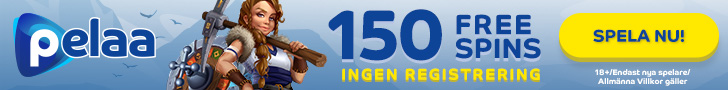 Pelaa casino ger dig 150 free spins utan registrering