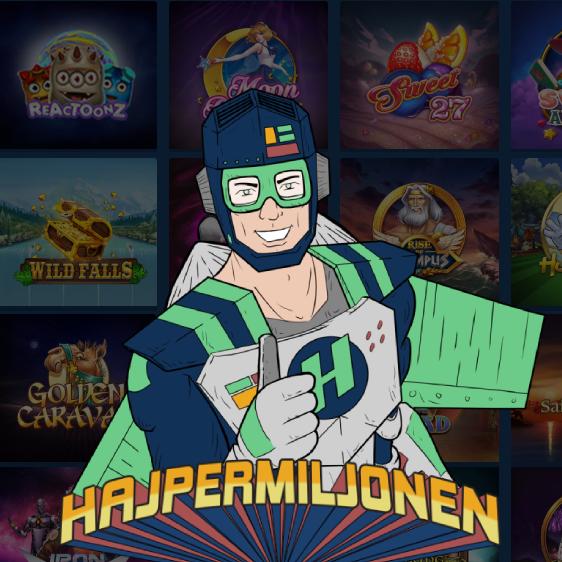 Hajper casino recension - ingen insättningsbonus men bästa erbjudande och kampanj i form av Hyper miljonen!
