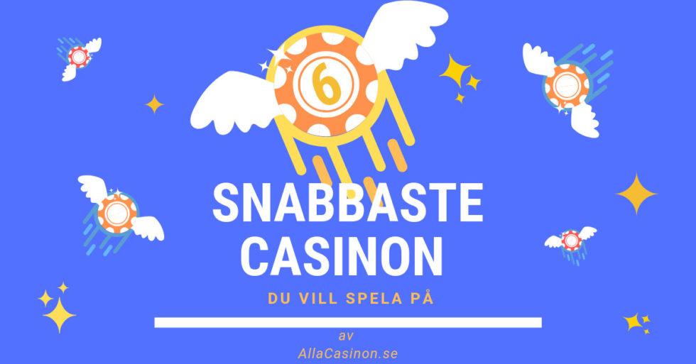Vad är snabba casinon på nätet?