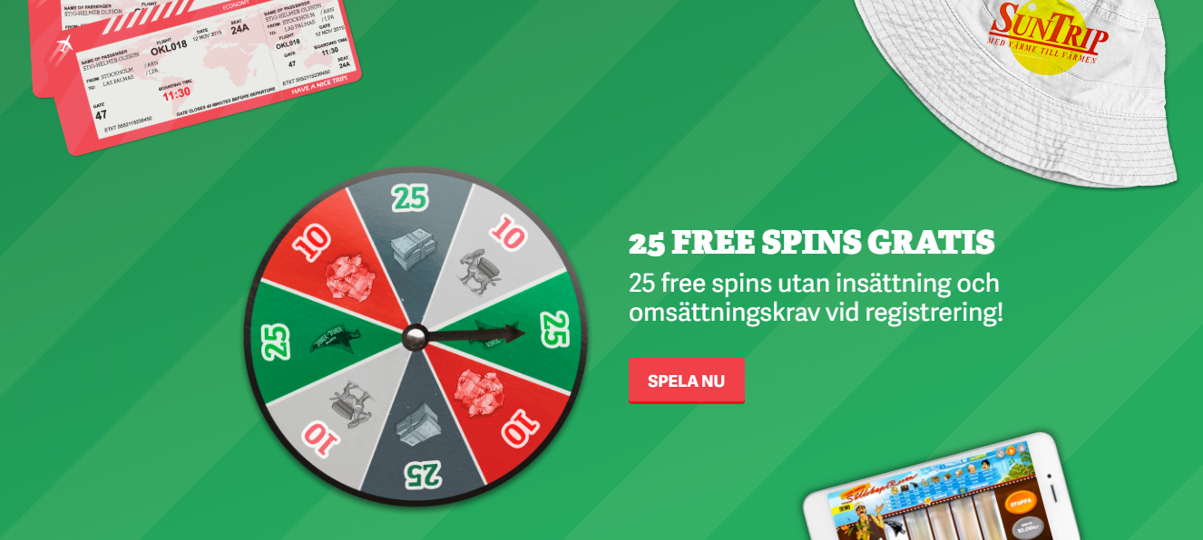 Nya casinon med free spins