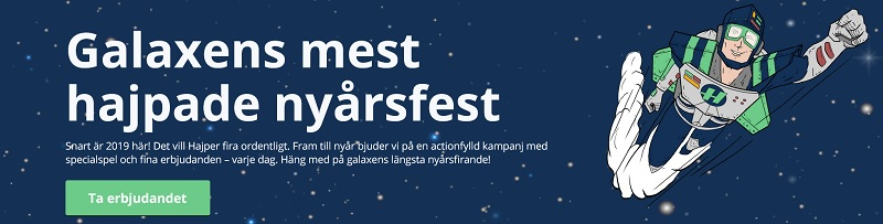 Nya svenska casinon 2019: Hajper casino