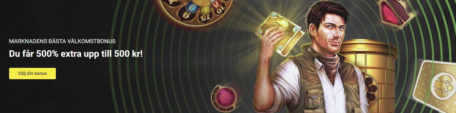 Unibet casino bonus 500% insättningsbonus upp till 500 kr