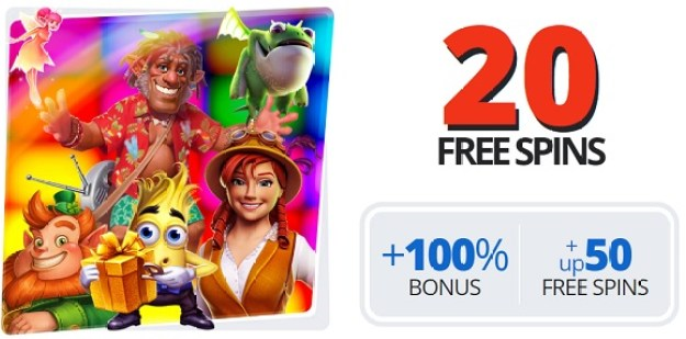 Ego Casino welcome bonus 20 FS 2021