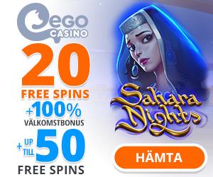 ego casino free spins